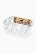 ���㡼�ʥ륹��������� �ե��˥��㡼 Rochester wire basket S wh