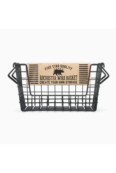 ���㡼�ʥ륹��������� �ե��˥��㡼 Rochester wire basket shelf S bk �ܺٲ���1