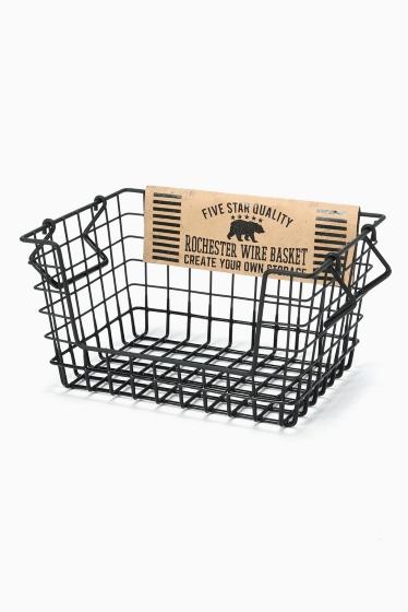 ���㡼�ʥ륹��������� �ե��˥��㡼 Rochester wire basket shelf S bk �������� K