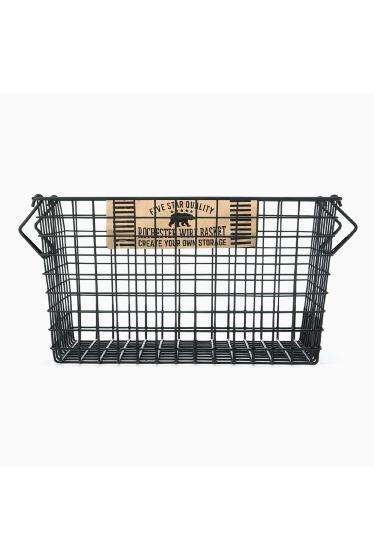 ���㡼�ʥ륹��������� �ե��˥��㡼 Rochester wire basket L bk �ܺٲ���1
