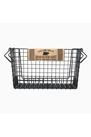 ���㡼�ʥ륹��������� �ե��˥��㡼 Rochester wire basket shelf L bk �ܺٲ���1