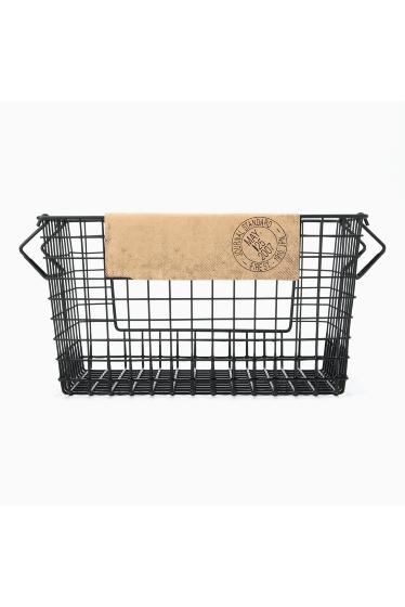 ���㡼�ʥ륹��������� �ե��˥��㡼 Rochester wire basket shelf L bk �ܺٲ���3