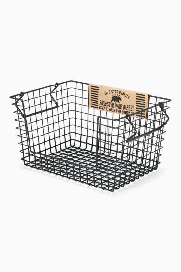 ���㡼�ʥ륹��������� �ե��˥��㡼 Rochester wire basket shelf L bk �������� K
