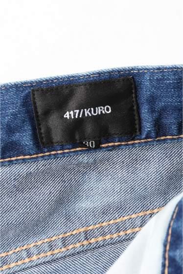 �ե�����֥� ���ǥ��ե��� KURO / ���� 417���� EN.TOE  BLEACH DENIM �ܺٲ���15