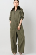 ���㡼�ʥ륹��������� �쥵������ ��HARVEY FAIRCLOTH ��OLIVE DRAB COVER ALLS:�����륤����