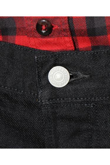 ���㡼�ʥ륹��������� SELVAGE BLACK DENIM SLIM 5PK-PANTS �ܺٲ���9