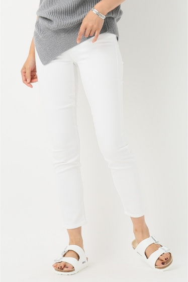 �ɥ����������� ���饹 MOTHER WHITE SKINNY�� �ܺٲ���13