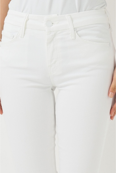 �ɥ����������� ���饹 MOTHER WHITE SKINNY�� �ܺٲ���5