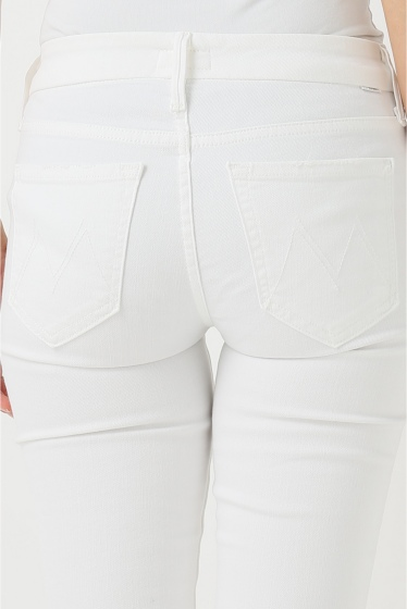�ɥ����������� ���饹 MOTHER WHITE SKINNY�� �ܺٲ���6