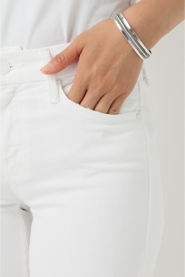 �ɥ����������� ���饹 MOTHER WHITE SKINNY�� �ܺٲ���7