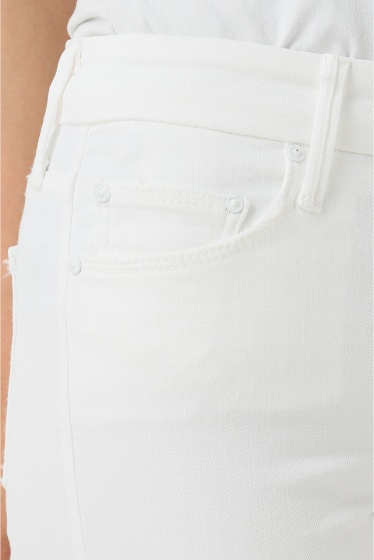 �ɥ����������� ���饹 MOTHER WHITE SKINNY�� �ܺٲ���8