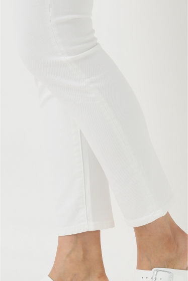 �ɥ����������� ���饹 MOTHER WHITE SKINNY�� �ܺٲ���9
