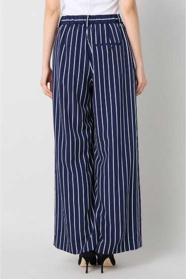 ���ѥ�ȥ�� �ɥ����������� ���饹 stripe wide pants�� �ܺٲ���3