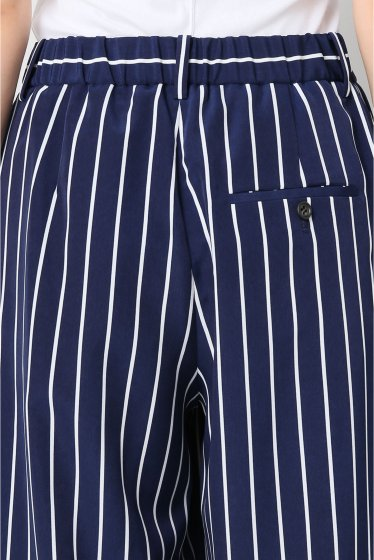 ���ѥ�ȥ�� �ɥ����������� ���饹 stripe wide pants�� �ܺٲ���5