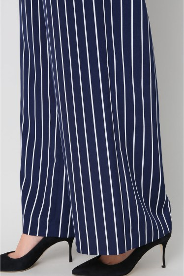 ���ѥ�ȥ�� �ɥ����������� ���饹 stripe wide pants�� �ܺٲ���7