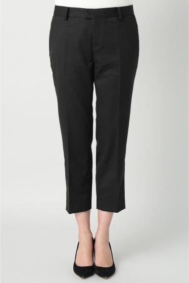 ���ѥ�ȥ�� �ɥ����������� ���饹 Wool Cropped Pants�� �֥�å�