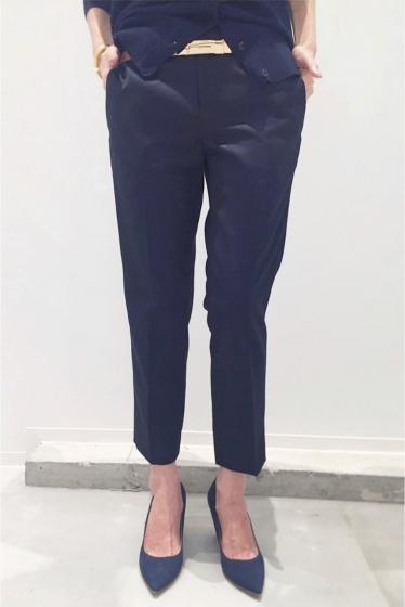 ���ѥ�ȥ�� �ɥ����������� ���饹 Wool Cropped Pants�� �ͥ��ӡ�