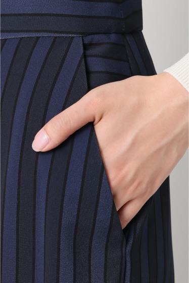 ���ѥ�ȥ�� �ɥ����������� ���饹 ��ATEA OCEANIE Stripe Wide pants �ܺٲ���4