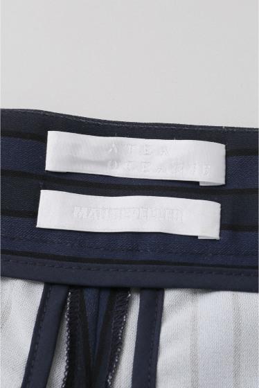 ���ѥ�ȥ�� �ɥ����������� ���饹 ��ATEA OCEANIE Stripe Wide pants �ܺٲ���9