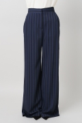 ���ѥ�ȥ�� �ɥ����������� ���饹 ��ATEA OCEANIE Stripe Wide pants