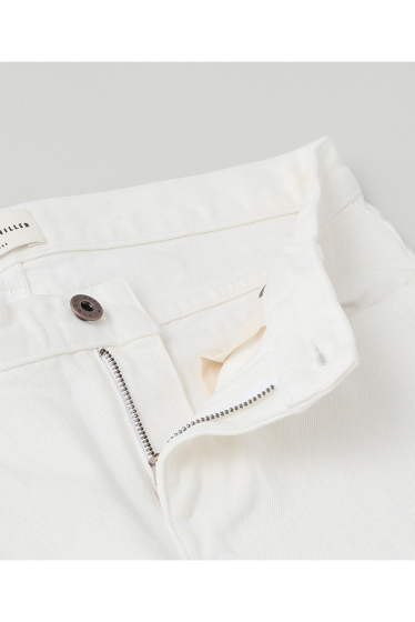 ���ѥ�ȥ�� �ɥ����������� ���饹 ��SIMON MILLER Cropped Flare White Denim �ܺٲ���10