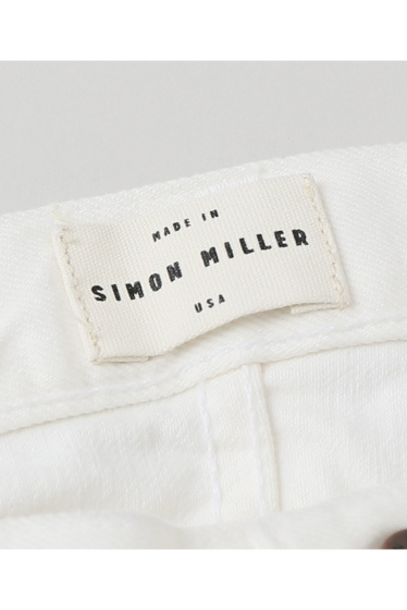 ���ѥ�ȥ�� �ɥ����������� ���饹 ��SIMON MILLER Cropped Flare White Denim �ܺٲ���11