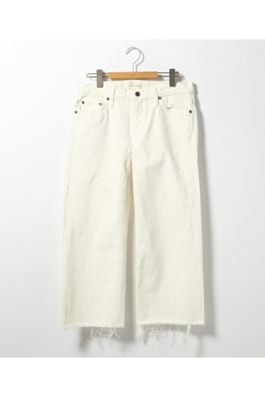 ���ѥ�ȥ�� �ɥ����������� ���饹 ��SIMON MILLER Cropped Flare White Denim �ܺٲ���13