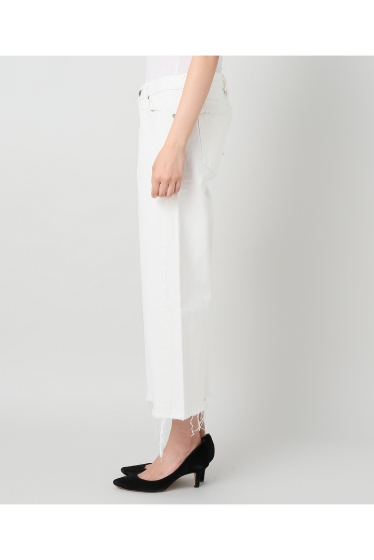 ���ѥ�ȥ�� �ɥ����������� ���饹 ��SIMON MILLER Cropped Flare White Denim �ܺٲ���2