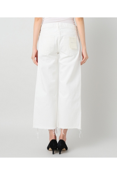 ���ѥ�ȥ�� �ɥ����������� ���饹 ��SIMON MILLER Cropped Flare White Denim �ܺٲ���3