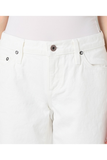 ���ѥ�ȥ�� �ɥ����������� ���饹 ��SIMON MILLER Cropped Flare White Denim �ܺٲ���4