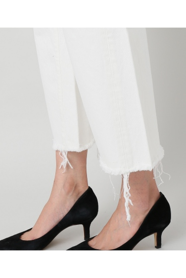 ���ѥ�ȥ�� �ɥ����������� ���饹 ��SIMON MILLER Cropped Flare White Denim �ܺٲ���9
