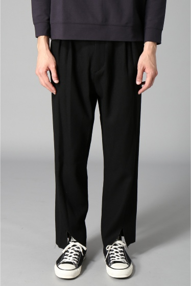 �������� bukht / �֥ե� CENTER SLIT TROUSERS �֥�å�