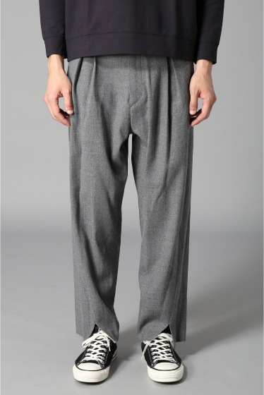 �������� bukht / �֥ե� CENTER SLIT TROUSERS ���졼