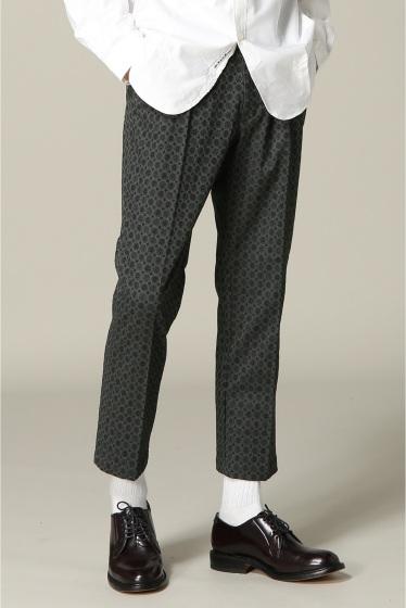 ���㡼�ʥ륹��������� NICHE Pattern Gaucho Easy Pants ���졼