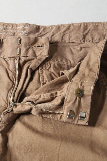 �����֥�������ʥ��ƥå� Lt.Twill Trouser W/Ribcuff �ܺٲ���12