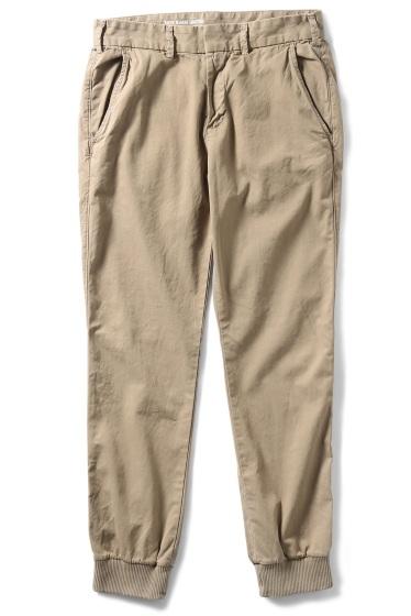�����֥�������ʥ��ƥå� Twill Trouser W/Ribcuf ������