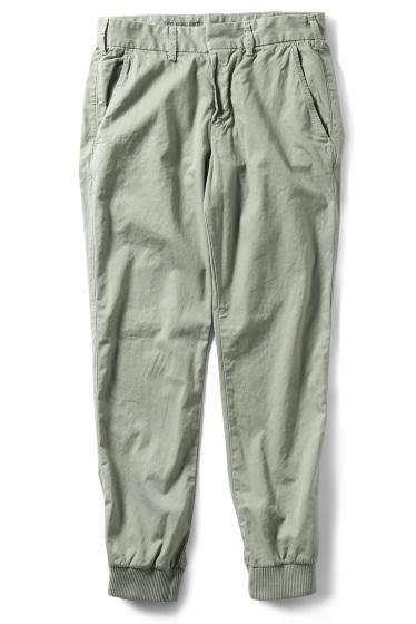 �����֥�������ʥ��ƥå� Twill Trouser W/Ribcuf ����� E