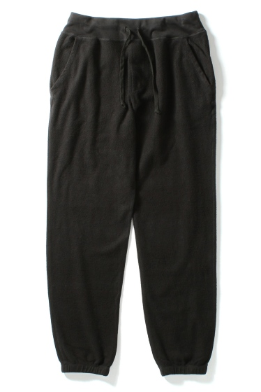 �����֥�������ʥ��ƥå� Supima Fleece Sweatpant �֥�å�