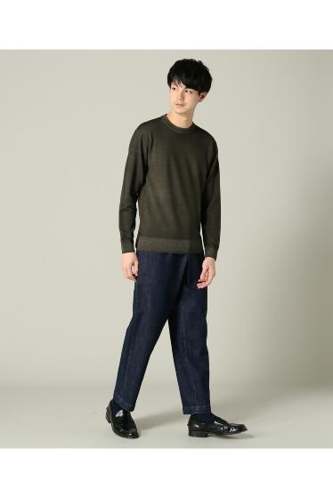 ���㡼�ʥ륹��������� RICCARDO METHA / �ꥫ��ɥ�å�:mens 1tuck wide trouser denim �ܺٲ���1