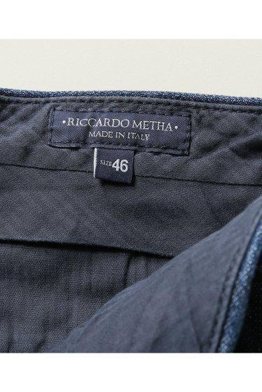 ���㡼�ʥ륹��������� RICCARDO METHA / �ꥫ��ɥ�å�:mens 1tuck wide trouser denim �ܺٲ���11