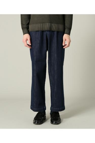 ���㡼�ʥ륹��������� RICCARDO METHA / �ꥫ��ɥ�å�:mens 1tuck wide trouser denim �ܺٲ���2