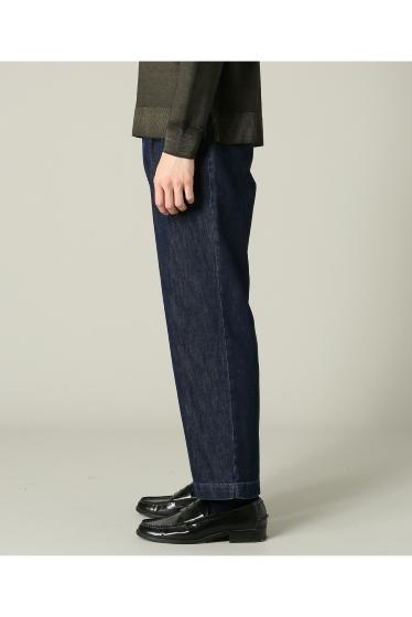���㡼�ʥ륹��������� RICCARDO METHA / �ꥫ��ɥ�å�:mens 1tuck wide trouser denim �ܺٲ���3