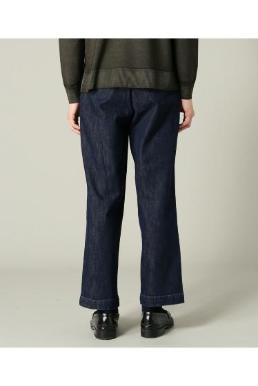���㡼�ʥ륹��������� RICCARDO METHA / �ꥫ��ɥ�å�:mens 1tuck wide trouser denim �ܺٲ���4