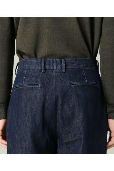 ���㡼�ʥ륹��������� RICCARDO METHA / �ꥫ��ɥ�å�:mens 1tuck wide trouser denim �ܺٲ���6