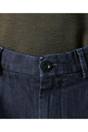 ���㡼�ʥ륹��������� RICCARDO METHA / �ꥫ��ɥ�å�:mens 1tuck wide trouser denim �ܺٲ���8
