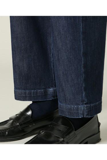 ���㡼�ʥ륹��������� RICCARDO METHA / �ꥫ��ɥ�å�:mens 1tuck wide trouser denim �ܺٲ���9