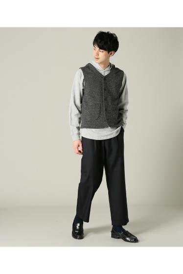 ���㡼�ʥ륹��������� RICCARDO METHA / �ꥫ��ɥ�å�:mens 1tuck wide trouser wool �ܺٲ���1