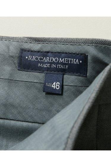 ���㡼�ʥ륹��������� RICCARDO METHA / �ꥫ��ɥ�å�:mens 1tuck wide trouser wool �ܺٲ���14