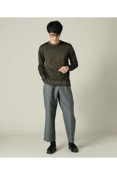 ���㡼�ʥ륹��������� RICCARDO METHA / �ꥫ��ɥ�å�:mens 1tuck wide trouser wool �ܺٲ���2