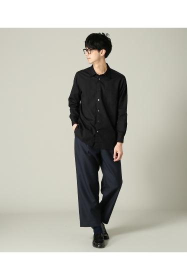 ���㡼�ʥ륹��������� RICCARDO METHA / �ꥫ��ɥ�å�:mens 1tuck wide trouser wool �ܺٲ���3
